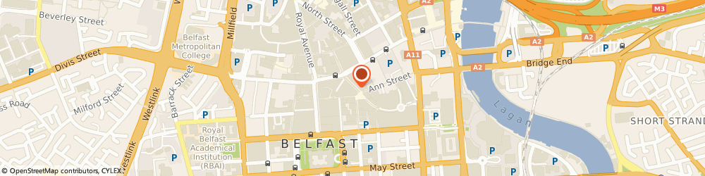Route/map/directions to Frank J Petticrew, BT1 4DB Belfast, HOLBECK HOUSE, 19-21 CORN MARKET