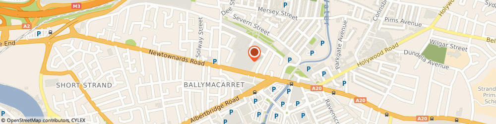 Route/map/directions to Media Marketing, BT4 1HE Belfast, B7 Portview Trade Centre, 310 Newtownards Road