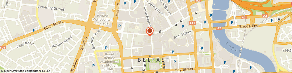 Route/map/directions to Abacus Beads, BT1 1HB Belfast, 1 Mcauley House, Castle Street