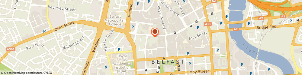 Route/map/directions to Executive, BT1 1HB Belfast, 44 Castle St
