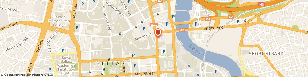 Route/map/directions to Bittles Bar, BT1 4PB Belfast, 103 VICTORIA ST, 1