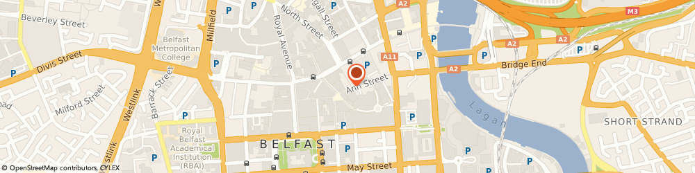 Route/map/directions to G-Star RAW Store Belfast, BT1 1FY Belfast, 14-16 Ann St