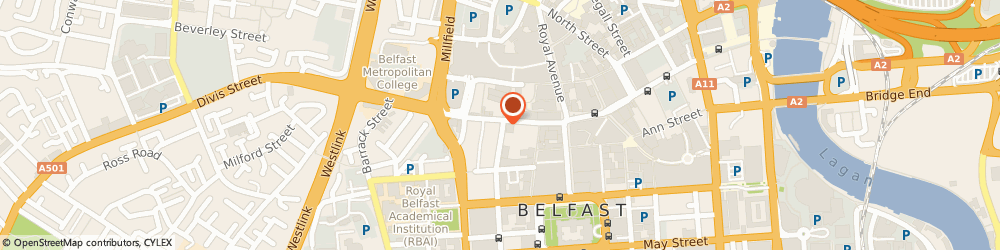 Route/map/directions to Picture Gallery, BT1 6EA Belfast, 35 Queen Street