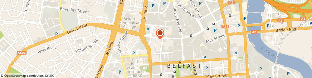 Route/map/directions to C Mallon, BT1 1HE Belfast, 82 Castle Street