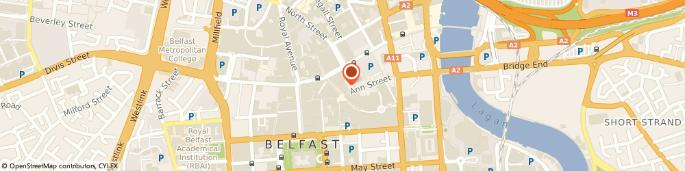 Route/map/directions to EAA SOLUTIONS LIMITED, BT1 4GA Belfast, Pkf-Fpm Accountants Ltd, 1-3 Arthur Street