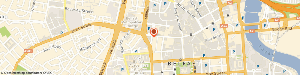Route/map/directions to Hotel ibis Belfast City Centre, BT1 1HF Belfast, 100 Castle Street