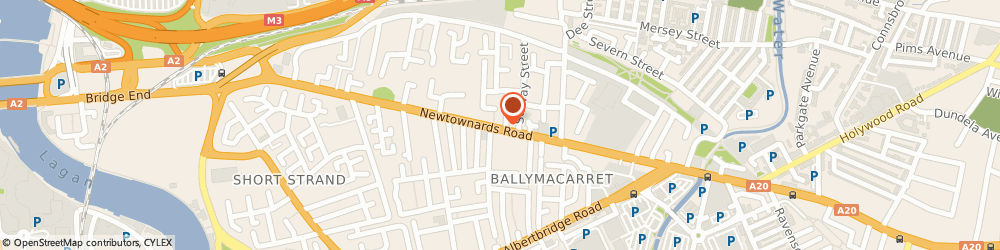 Route/map/directions to Replay Theatre, BT4 1AF Belfast, 239 Newtownards Rd