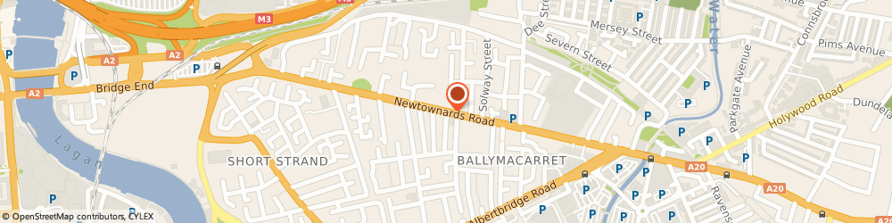 Route/map/directions to Becky's Cafe, BT4 1HE Belfast, 342 Newtownards Rd