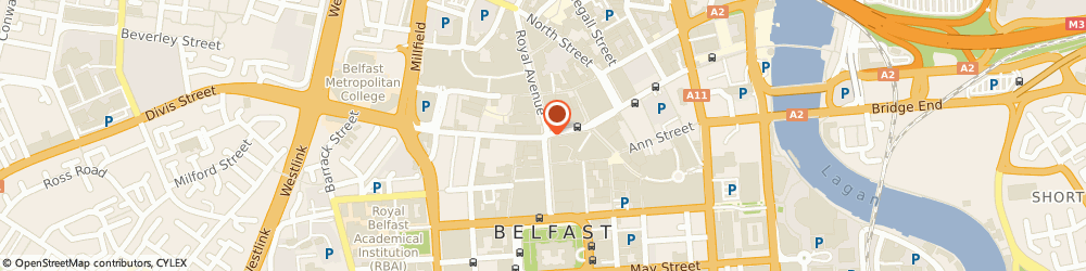 Route/map/directions to KFC Belfast, BT1 5AA Belfast, 15 Donegall Place