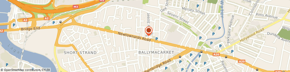 Route/map/directions to Urban Barber, BT4 1HB Belfast, 246 Newtownards Rd