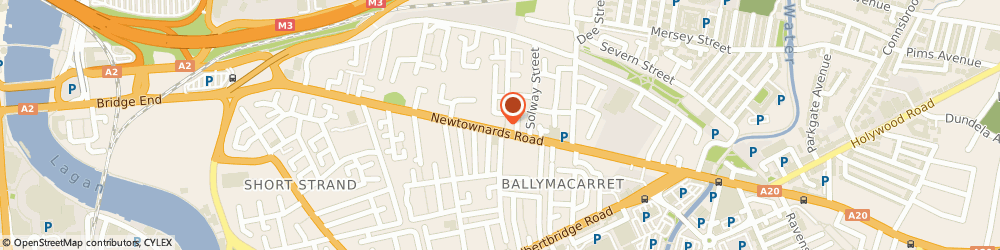 Route/map/directions to East End Motorcycles, BT4 1HB Belfast, 222 Newtownards Rd