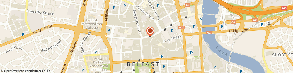 Route/map/directions to Barclays Bank PLC, BT1 1EL Belfast, Ground Floor, 17 Castle Place