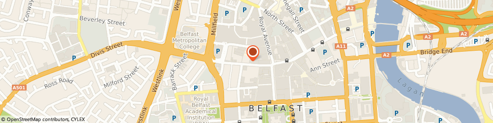 Route/map/directions to Timescape - Live Escape Games, BT1 1HB Belfast, 46a Castle St