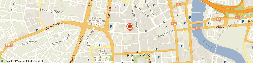 Route/map/directions to The Hercules Bar, BT1 1GH Belfast, 61-63 CASTLE STREET