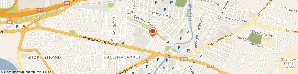 Route/map/directions to Coburn Electrical Agent, BT4 1HQ Belfast, UNIT 10/TAMAR BUSINESS CENTRE, CAREW STREET