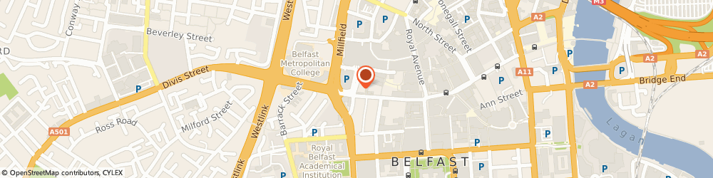 Route/map/directions to Mc Garvey Cycles, BT1 1HU Belfast, 16 King St