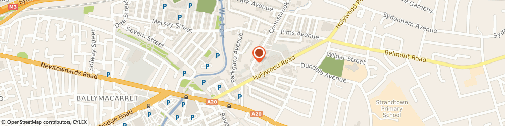 Route/map/directions to Hairsay By Angie, BT4 1JT Belfast, 4 Connsbrook Avenue