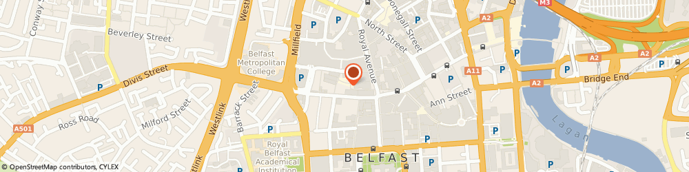 Route/map/directions to Mourne Seafood Bar, BT1 1HL Belfast, 34-36 Bank St