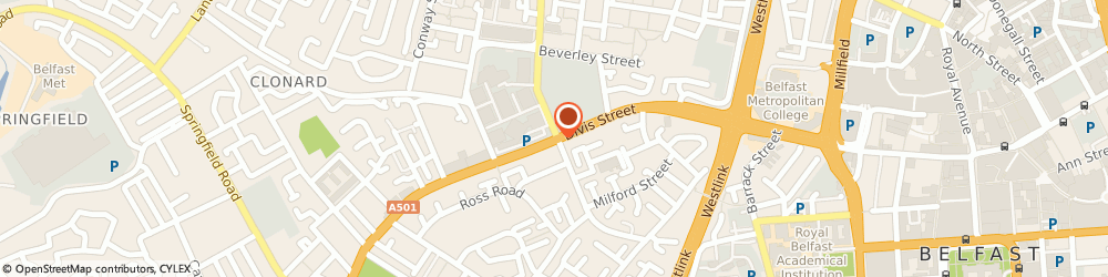 Route/map/directions to Beauty Secrets, BT13 2JF Belfast, UNIT 16 TWIN SPIRES CENTRE, 155