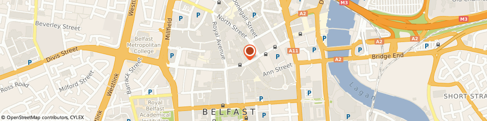 Route/map/directions to Blackpearl Property, BT1 1RD Belfast, GORDON HOUSE 22-24 LOMBARD STREET