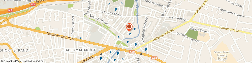 Route/map/directions to MASTER REND LTD, BT4 1FY Belfast, Apt 3 10 Lewis Mews