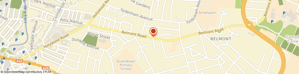 Route/map/directions to Strandtown Baptist Church, BT4 2AB Belfast, 1 Clonallon Ct