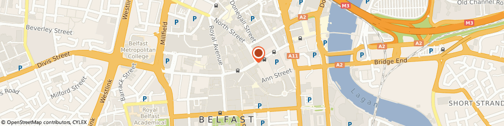 Route/map/directions to The Wicker Man, BT1 2BD Belfast, 18 High St