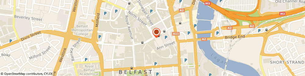 Route/map/directions to Bright's Restaurant, BT1 2AA Belfast, 23-25 High St