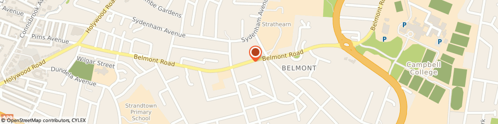 Route/map/directions to Cyril Sweett Ltd., BT4 2AW Belfast, 232-240 Belmont Rd