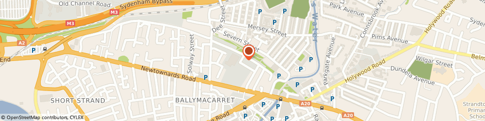 Route/map/directions to William Clements (Chemicals) Ltd., BT4 1BL Belfast, 1 Chater St