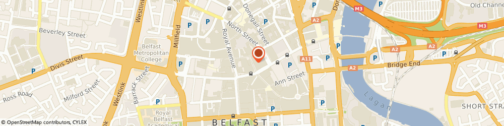 Route/map/directions to Factotum, BT1 1RB Belfast, 9-11 Lombard Street