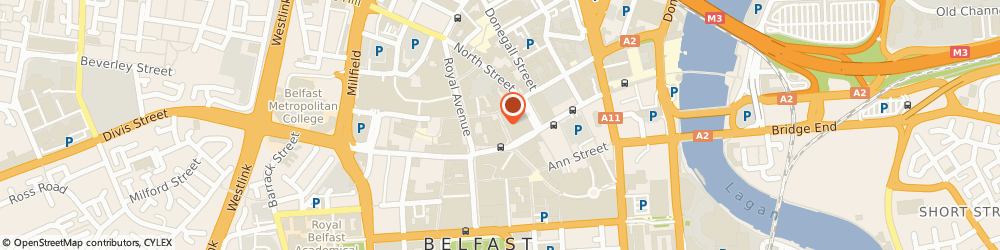 Route/map/directions to Socialist Party The, BT1 1RB Belfast, 15 LOMBARD ST