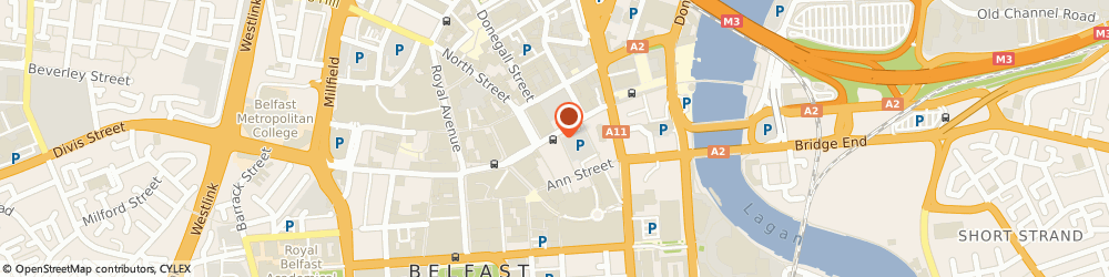 Route/map/directions to Metz Espress, BT1 2AB Belfast, 55 High St