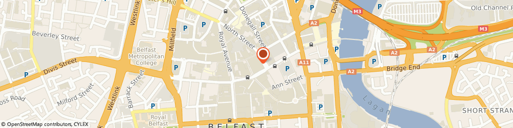 Route/map/directions to Crown Bookmakers Limited, BT1 1QN Belfast, 1-9 WINECELLAR ENTRY