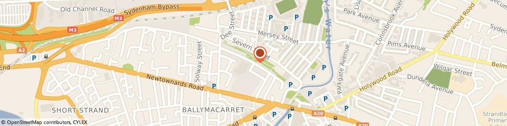 Route/map/directions to G & d Joinery, BT4 1BL Belfast, 1 CHATER STREET