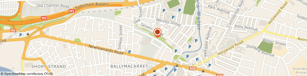 Route/map/directions to Fitzgerald Lighting Ltd, BT4 1BL Belfast, 1 CHATER STREET