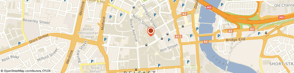 Route/map/directions to Caffè Nero, BT1 1RB Belfast, 17-21 Lombard St