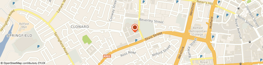 Route/map/directions to The Bytes Project, BT13 2JF Belfast, Unit 5, The Filor Building, 155 Northumberland Street
