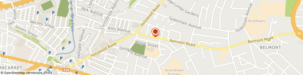 Route/map/directions to The Zip Yard, BT4 2AA Belfast, 49 Belmont Rd