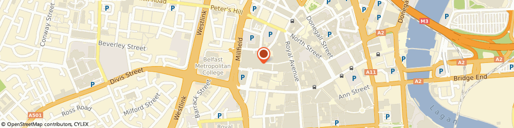 Route/map/directions to Burton, BT1 1DD Belfast, Royal Avenue