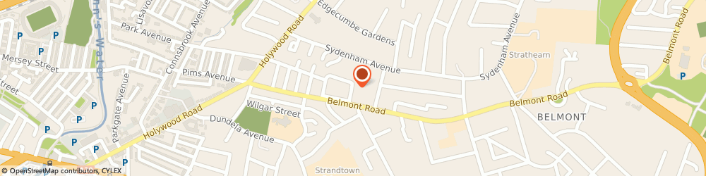 Route/map/directions to Mary Moppins Cleaning Ltd, BT4 2BH Belfast, Flat 7, 50, Edenvale Crescent