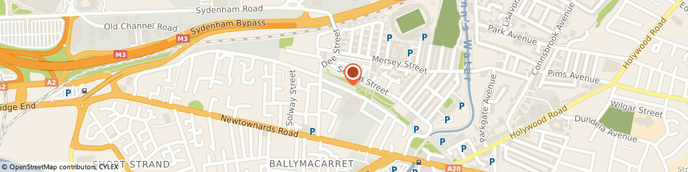 Route/map/directions to Wilson Electrical Wholesale, BT4 1HS Belfast, 8 Tamar Street