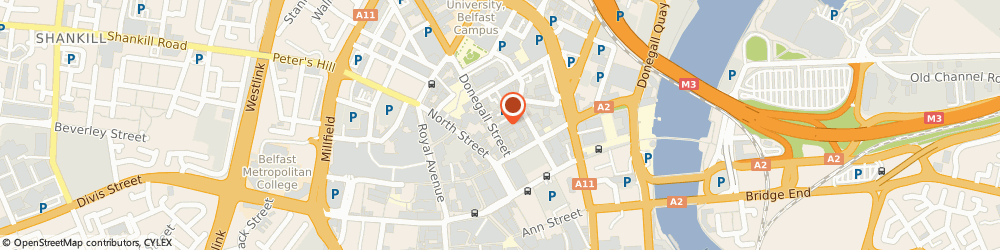 Route/map/directions to Airpos Limited, BT1 2NB Belfast, 1st Floor, 3-5 Commercial Court