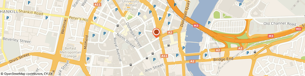 Route/map/directions to Belfast Print Workshop, BT1 2ED Belfast, 30-42 Waring St