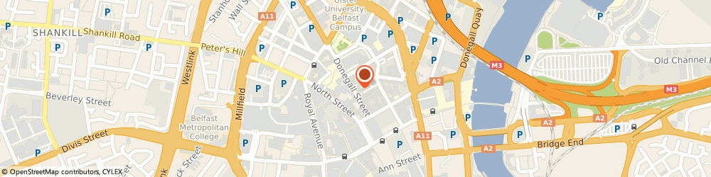 Route/map/directions to Alto Investments, BT1 2FG Belfast, 41 DONEGALL STREET