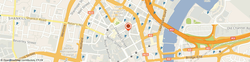 Route/map/directions to Ssafa Forces Help, BT1 2LD Belfast, 21 Talbot Street