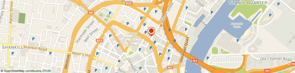 Route/map/directions to Car Park Services Ltd, BT1 2LT Belfast, 36 Great Patrick Street