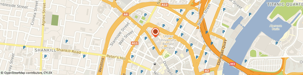 Route/map/directions to Dj's Cafe, BT1 2FJ Belfast, 187 DONEGALL STREET