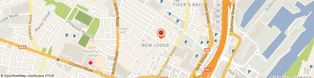 Route/map/directions to New Lodge Housing Office, BT15 2BU Belfast, 23 New Lodge Rd