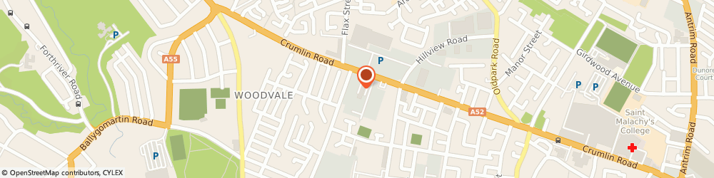 Route/map/directions to D Mcauley & Sons Ltd, BT14 7EE Belfast, 326 Crumlin Road